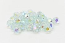 Light Azore AB 2x 5000 Swarovski Elements Crystal Round Bead