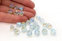 Light Azore AB2x 5301/5328 Swarovski Elements Crystal Bicone Beads