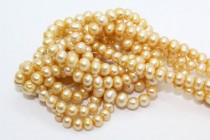 Potato Freshwater Pearls - Yellow Gold - A Grade