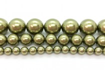 Crystal Light Green - Swarovski Round Pearls 5810/5811