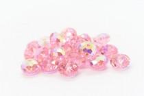 Light Rose AB 5040 Swarovski Elements Crystal Rondelle Bead