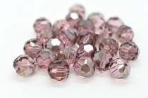 Light Rose Satin 5000 Swarovski Elements Crystal Cube Beads