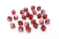 Light Siam Satin 5301/5328 Swarovski Elements Crystal Bicone Bead