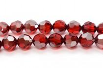 Light Siam Satin 5000 Swarovski Elements Crystal Round Bead