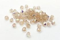 Light Silk AB 5328 Swarovski Crystal Bicone Bead