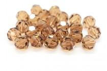 Light Smoked Topaz 5000 Swarovski Elements Crystal Round Bead