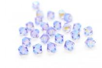Light Tanzanite AB2X 5301/5328 Swarovski Elements Crystal Bicone Bead