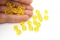 Light Topaz 5301/5328 Swarovski Elements Crystal Bicone Bead