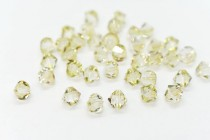 Crystal Luminous Green Swarovski Crystal Bicone Beads 5301/5328