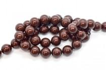 Crystal Maroon - Swarovski Round Pearls 5810/5811