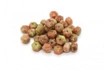 Mayflower Jasper (Natural) Six Sided Drum Gemstone Beads