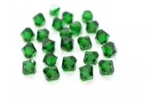 Medium Emerald  5301 Swarovski Elements Crystal Bicone Bead