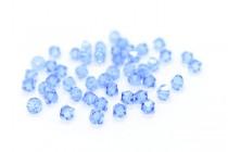 Medium Sapphire  5301/5328 Swarovski Elements Crystal Bicone Bead