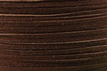 Flat Suede Lace Cord - Brown (2mm)