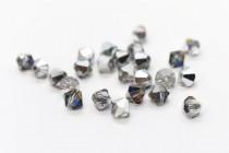 Crystal Meridian Blue  5301/5328 Swarovski Elements Crystal Bicone Bead