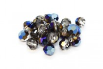 Crystal Metallic Blue Swarovski Crystal Round Beads 5000