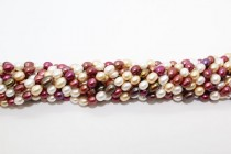 Rice Freshwater Pearls - Multi Colored