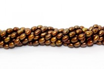 Rice Freshwater Pearls - Mocha - A Grade - 4x6mm