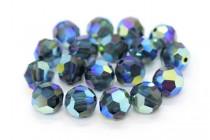 Montana AB 2x 5000 Swarovski Elements Crystal Round Bead