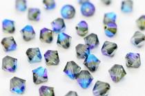 Montana AB 5301/5328 Swarovski Elements Crystal Bicone Bead