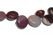 Mookaite (Natural) Top-Drilled Nugget Gemstone Beads
