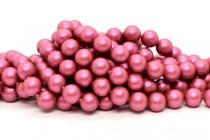Crystal Mulberry Pink - Swarovski Crystal Round Pearls 5810