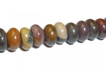 Australian Riverstone (Natural) Rondelle Gemstone Beads