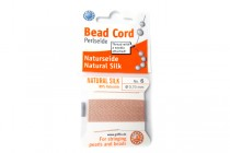 Griffin Natural Silk Bead Cord - Light Pink