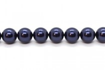 Crystal Night Blue - Swarovski Round Pearls 5810