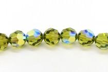 Olivine AB  5000 Swarovski Elements Crystal Round Bead