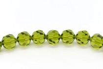 Olivine 5000 Swarovski Elements Crystal Round Bead