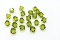 Olivine 5301/5328 Swarovski Crystal Bicone Bead