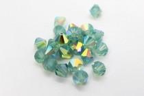Pacific Opal AB  5301 Swarovski Elements Crystal Bicone Bead