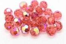 Padparadscha AB  5000 Swarovski Elements Crystal Round Bead