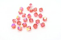 Padparadscha AB 5301/5328 Swarovski Crystal Bicone Beads - Factory Pack Quantity