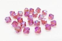 Padparadscha AB2x 5301/5328 Swarovski Elements Crystal Bicone Beads