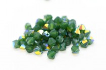 Palace Green Opal AB  5301/5328  Swarovski Elements Crystal Bicone Bead