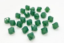 Palace Green Opal 5301 Swarovski Elements Crystal Bicone Bead