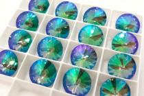 Crystal Paradise Shine 1122 Swarovski Crystal Elements Faceted Rivoli Rhinestone