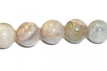 Moonstone  - Peach (natural) A grade Round Gemstone  Beads