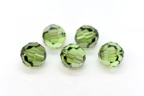Peridot Satin 5000 Swarovski Elements Crystal Round Bead