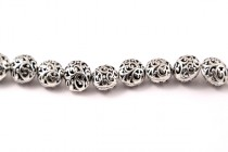 Pewter Open Vine Beads 13x16mm