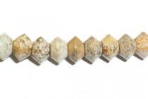 Picture Jasper (Natural) Saucer Gemstone Beads