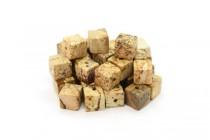 Picture Jasper (Natural) Cube Gemstone Beads