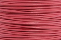 Greek Round Leather Cord - Pink