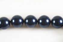Crystal Night Blue - Swarovski Round Pearls 5810/5811