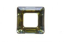Crystal Sahara 4439 Swarovski Elements Crystal Square Fancy Stone Pendant