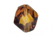 Crystal Copper, Bead, Swarovski crystals,faceted cosmic (5523).