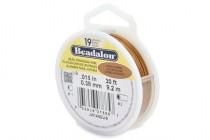 Beadalon® Stringing Wire ( Satin copper ) - 19 Strands - .015