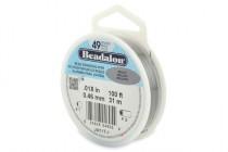 Beadalon® Bead Stringing Wire - 49 Strands - .018